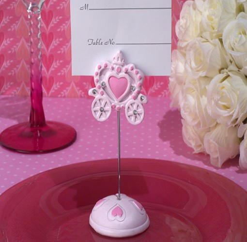 Pink Royalty For A Day Place Card Holder