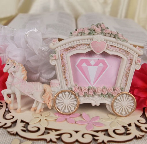 Wedding Carriage Photo Frame/Place Card Holder
