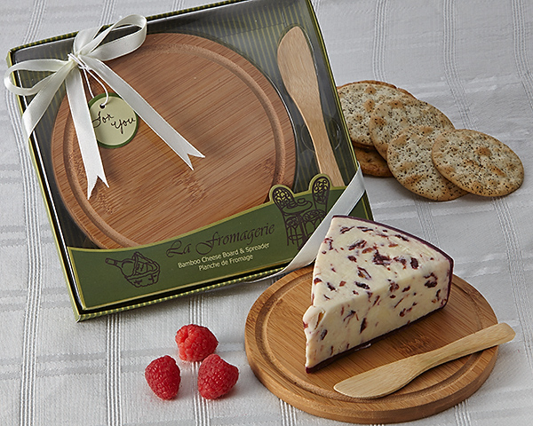 A35000 - La Fromagerie Cheese Board & Spreader