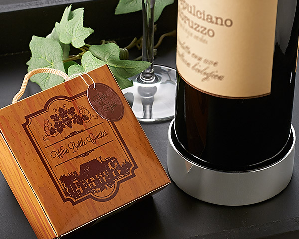 A42012 - Vineyard Estate Wine Bottle Coaster