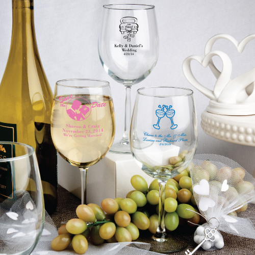 Personalized 12 Oz. Wine Goblet